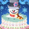 Frosty the Snowman might come back if we bake him a cake! Although you might want to fill it with ice cream so that he doesn`t totally burn his face off when he goes to bite into it! Put the magic hat on this frosty frosting and watch it come to life!