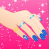Winter is here and our fingernails need a new look. Right girls? Every girl wants to look fashionable. In this game for girls you can combine different colors for each finger nail, put several rings on each finger and over nails place nice stickers.  Find the most beautiful combination for your nails.  Success!