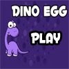 Drop dino egg on safe zone to win this game.