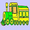 Historic fast train coloring