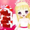 The Angel's heart tower is easy to play game. The main idea is to build a tower from the presents packed in the heart boxes. The higher is tower the more score can be obtained.