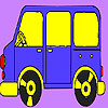 Dwarf bus coloring A Free Customize Game
