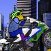 Super Cartoon Biker