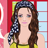 Hey girls! Today, our pretty girl has a spring date. As you know, spring dates are special, flowers blooming, birds singing, everything`s so romantic! Since she has a spring date, she wants to look as beautiful as she can, so she needs your help. In spring, hair bands are so in-style, you can choose any hair band you like. Let`s get her ready for the big date!