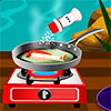 Hey girls, today we present a great cooking game for girls, Grilled Fish With Lemon. You will learn how to cook a delicious and very healthy food. For fish lovers, this game will be exactly to their taste. First, you will need to prepare the sausage, mixing the butter, lemon juice with salt and pepper. Carefully place the fish on the grill and wait until is fine cooked. Put the boiled spinach on a plate, on the spinach add the grilled fish and decorate with sausage. Will be very tasty. Good Luck.