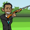 Obama Skeet Shooting A Free Shooting Game