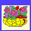 Flowers in the vase coloring Game.
