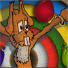 Easter Bunny Knife Toss A Free Shooting Game