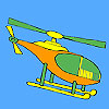 Short distance helicopter coloring