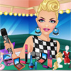 This amazing popstar is going to give a smashing concert tonight. But she only just arrived backstage and already needs to perform in just a few minutes! Can you get her ready in time for the show? First give her a quick makeover and then dress her up. Make sure she looks beautiful for all her fans!