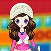 School Girl Dress up game.