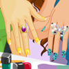 Bright and unusual nail polish – all the girls just love it! Emily and Ami arranged an evening of manicure.