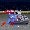 Captain America Car Demolition A Free Action Game