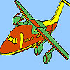 Fastest airplane coloring