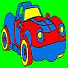 Fantastic sport car coloring