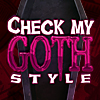 Check My Goth Style
