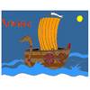 Viking Ship Coloring