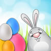 Help the Easter Bunny pack eggs to deliver for Easter. Line up 4 eggs of the same color to put them in the box. 5 eggs in a row will take out the whole line!