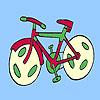 Fast spor bike coloring