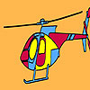 Private firm helicopter coloring