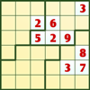 Continue your journey in our sudoku series and complete the grid with numbered jigsaw pieces! In this game you will be given a 9x9 grid, which is evenly divided into 9 squares. Your goal in the game is to put numbers 1 to 9 onto the blanks of the grid, such that the numbers will not be repeated in each row, each column, and each 3x3 square. In addition to that, the blanks will be randomly separated into irregular groups by green lines, and the numbers in each of the groups should not be the same. You can click a number on the number pad on the left of the grid to fill in a blank, and if you would like to remove a number previously entered, you can click the cross button at the bottom of the number pad to erase it. If you are not able to put a number, you may click the Hint button under the grid to reveal one of the answers, but note that each time you receive a hint 100 seconds will be added to the amount of time you have spent, as indicated at the bottom left corner of the screen. Fill in the blocks with speed and style, then rise to the top of the leaderboard!