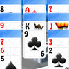 If you enjoy playing solitaire games, then this game by Free-Online-Action.com is one that you might well like!   This classical and popular solitaire is known as double Klondike (because you are playing with two cards decks). The game goal is to build the eight foundations up in ascending suit sequence from Ace to King with cards of identical suit. On the tableau, cards are played in descending order, alternating colors. When there is no more turns, use stock. Having finished the game successfully you shouldn`t forget to publish your best result to see your name at the Top of the table.