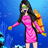 Scuba diving dress up game