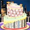 New Year Cake Decor