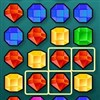 Get rid of gems by clicking gems of two are more that are the same colour.
