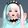 Pastel goth dress up game
