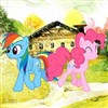 Pinkie & Rainbow Dash Journey A Free Action Game