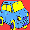 Antique mini car coloring