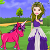 Rachel is a girl who is very fond of ponies. She has been selected to enact the role of a pony princess. Can you dress her up in casual suits that fits exactly for the role? She has to look very beautiful and cute.