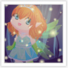 Design your night fairy and dress her up!