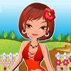 A beautiful collection of Flower Trend Dresses are about to amaze you in this cool dress up game. Have fun choosing the best dress!