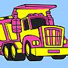 Big garbage truck coloring