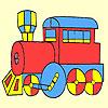 Classic fast vagon coloring