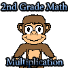 Multiplication Math for 2nd Grade, click on the correct answer over hundreds of problems to solve, Great for kids.