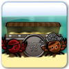 In underwater, pirates crabs fight for treasure. You are the red crab and you must cut the last ring for winning all the gold. Have fun !