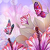 Spring butterflies party hidden numbers