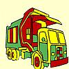 Big street truck coloring