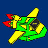 Fast space vehicle coloring