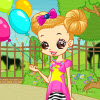 Dad and mom will take Gill to the zoo on Children`s Day. Gill loves animals and she is so happy. She starts to find the perfect dress for Children`s Day. Could you help her and give her some advice? Have fun!