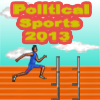 Political Sports: Obama Hurdle Runner