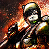 Planet Wars is an exciting old-school top down alien shooter with completely customizable weapons.  Simple controls make the game easy to pick up and play.  Play through the 10 mission campaign, with beautifully illustrated graphic novel style story panels. Missions range from offence to defence missions- upon which you can build a base to stop the alien horde.  There is also a survival mode with 6 maps, where you destroy wave after wave of incoming aliens.  Earn in-game money with every battle you fight, or every achievement you earn. You can spend on upgrading your weapons by buying different components. There are 7 different upgradable parts, this means you can completely customize your gun and armour to suit your style of play.  There are over 70 different items and components in the game with which to do this; including 17 core weapons which range from standard rifles to flame-throwers and rocket launchers: Make a fast firing sniper rifle with exploding rounds, or a deadly powerful shotgun with a bayonet for close encounters!