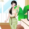 Lace And Sparkle Dress Up PlayGames4Girls