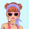 Colorful swimsuits dress up game