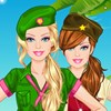 Barbie Army Style A Free Dress-Up Game