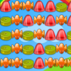 Click on groups of two or more candies to remove them.