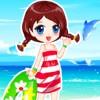 Summer Beach Dress Up A Free Dress-Up Game